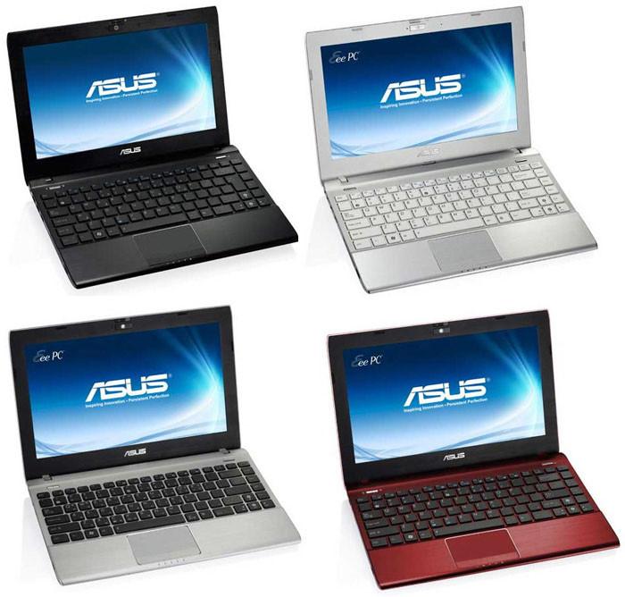 Нетбуки ASUS Eee PC Flare 1025C / CE, 1225B и X101CH на CES 2012