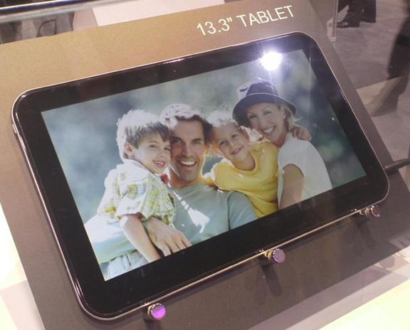 Toshiba показала на CES 5.1, 7.7 и 13.3-дюймовые планшеты