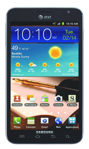 Samsung Galaxy Note вышел с LTE
