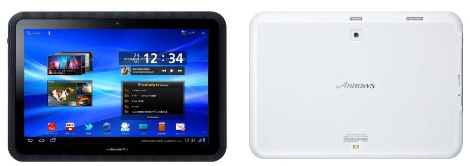 Fujitsu Arrows - 10.1-дюймовый водостойкий планшет