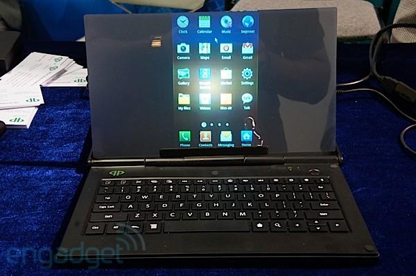LightPad превратит ваш телефон в ноутбук с проектором