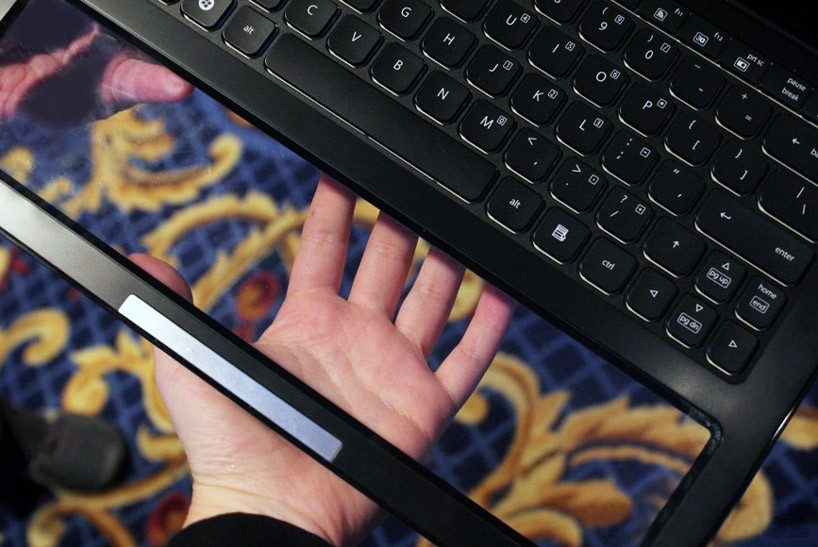 Intel Nikiski - концепт ноутбука с прозрачным тачпадом