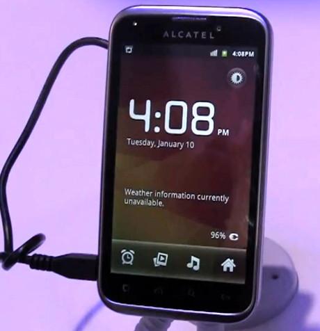 Alcatel Ultra 995 - еще один смартфон на Android
