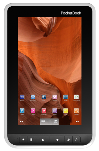 PocketBook А7 - 7-дюймовый ридер с цветным экраном