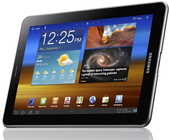 Samsung Galaxy Tab 7.7 вышел в продажу. Цена - от 30 000 рублей