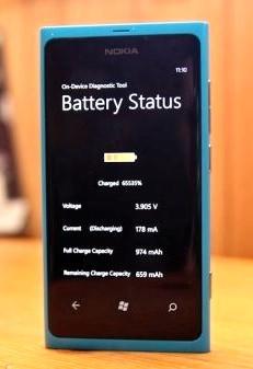 Обновления ПО Nokia Lumia 800 решают проблему с аккумулятором