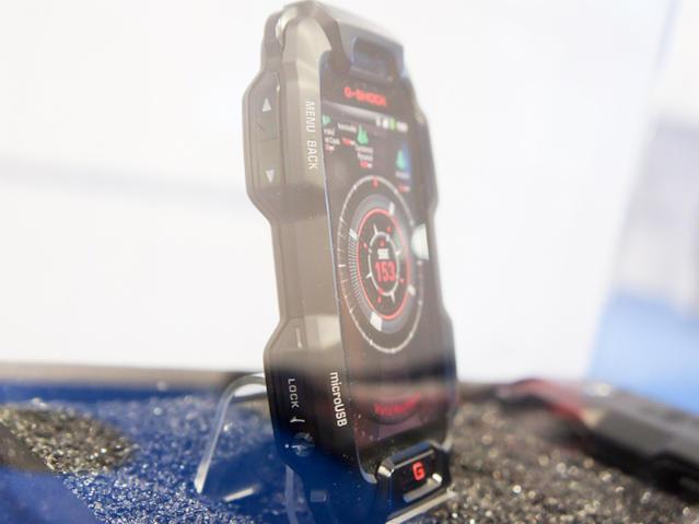 Casio G-Shock - защищенный смартфон на Android в необычном дизайне