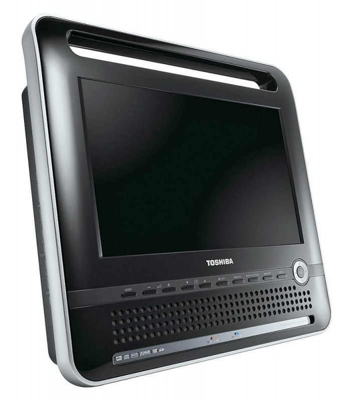 ЖК-телевизор с DVD-проигрывателем Toshiba SDP121ATKR: На природу вместе с Toshiba