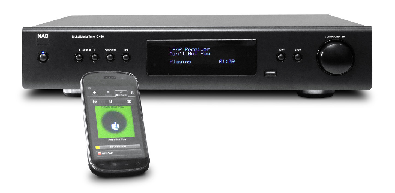 Сетевой музыкальный плеер NAD C446. Кому нужен AirPlay, если потоковый звук так хорош?