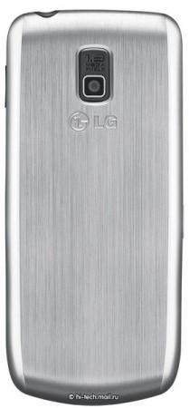 LG представит телефон с тремя