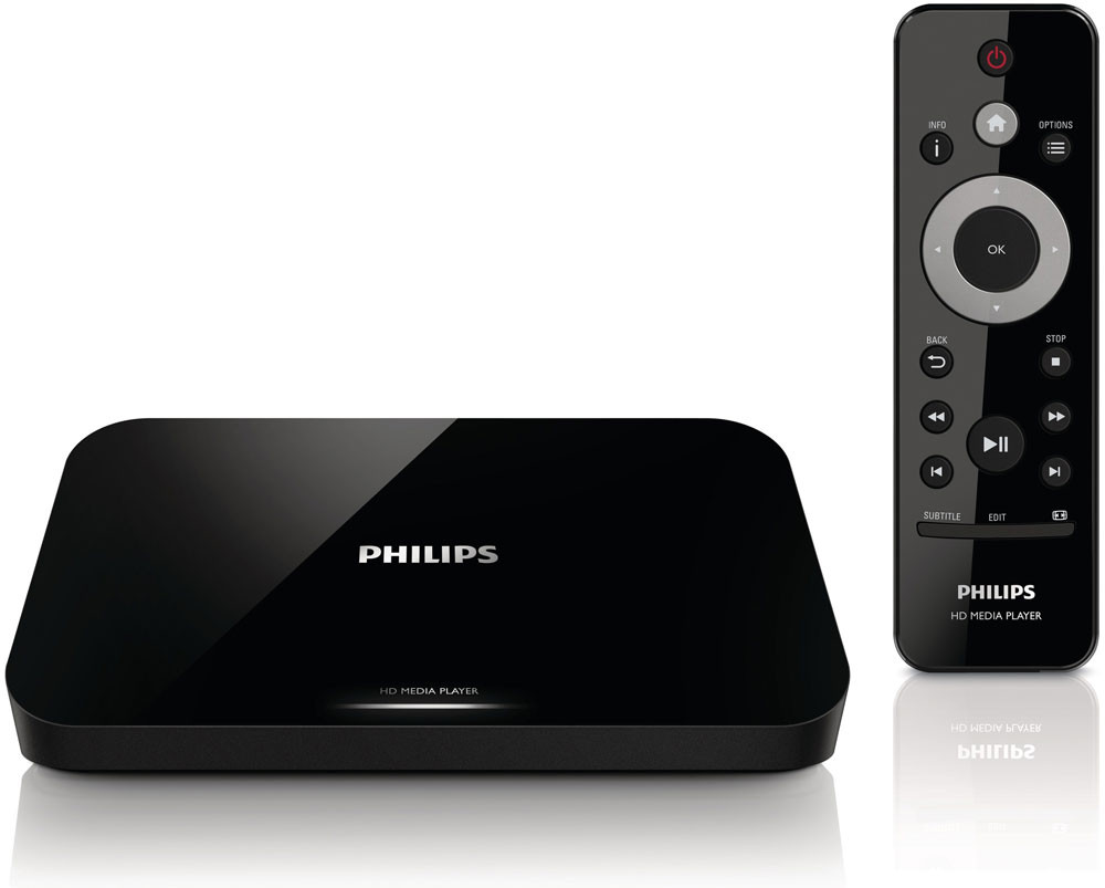 Stuff-обзор: Мультимедийный центр Philips Smart Media Box HMP5000 - умная коробочка