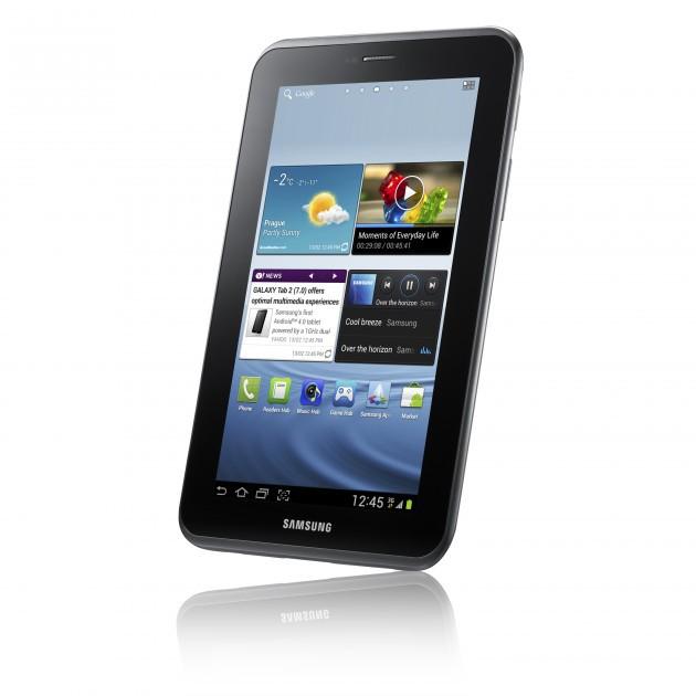 Samsung анонсировал новый планшет Galaxy Tab 2 (7.0) на базе Android 4.0