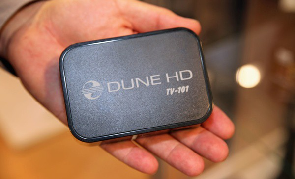Сетевой медиапроигрыватель Dune HD TV-101W: Младший брат на выручку большому