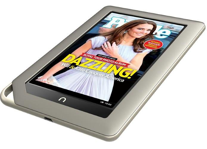 Barnes & Noble выпустила менее дорогой Nook Tablet с 8 ГБ памяти