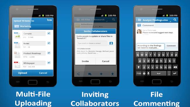 Облачное хранилище Box предоставит бесплатные 50 ГБ всем пользователям Android