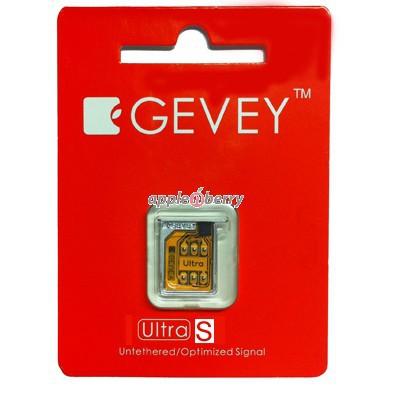Gevey Ultra S SIM разлочит iPhone 4S без джейлбрейка