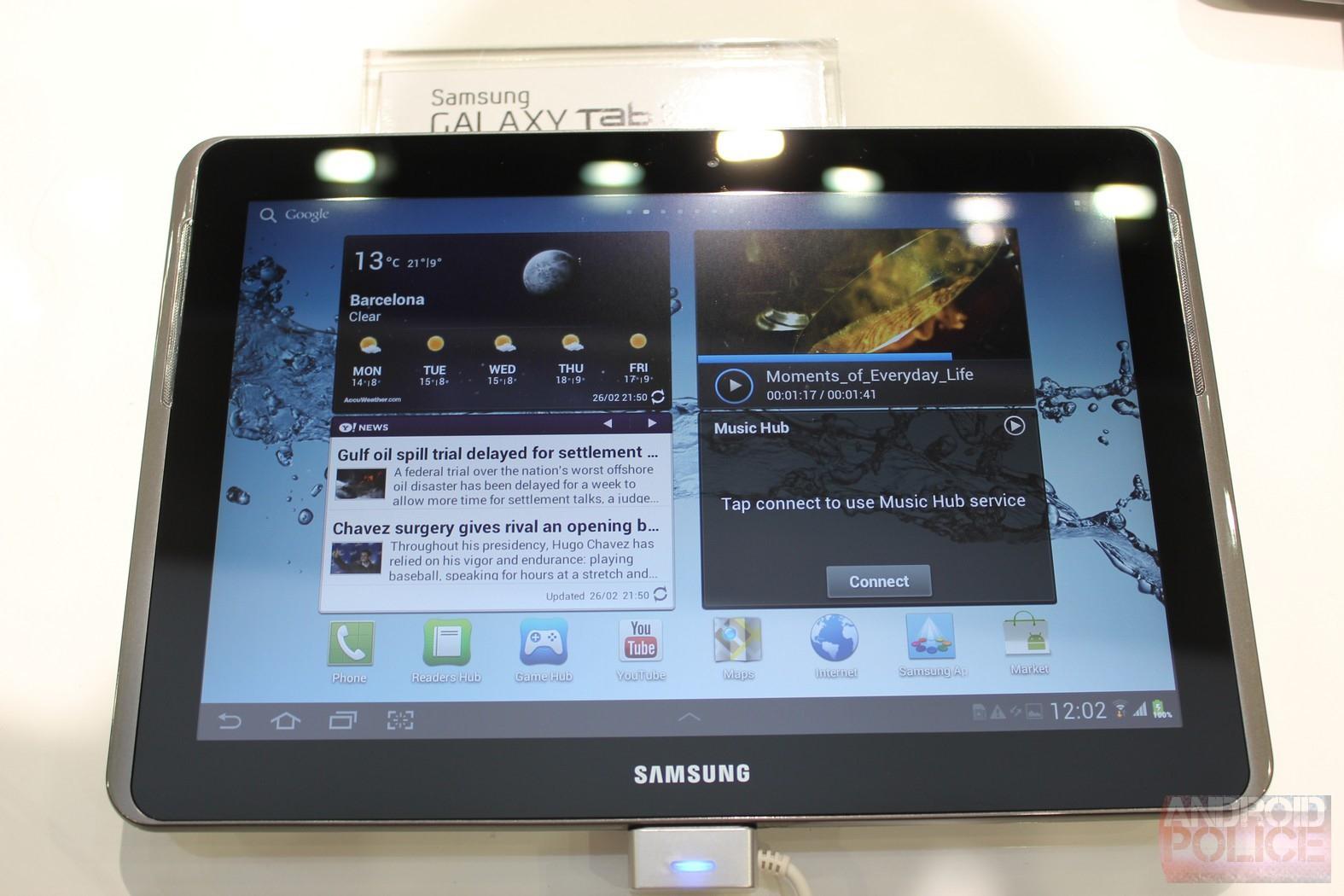 Планшет Samsung Galaxy Tab 2 10.1 на базе Android 4.0 представлен официально