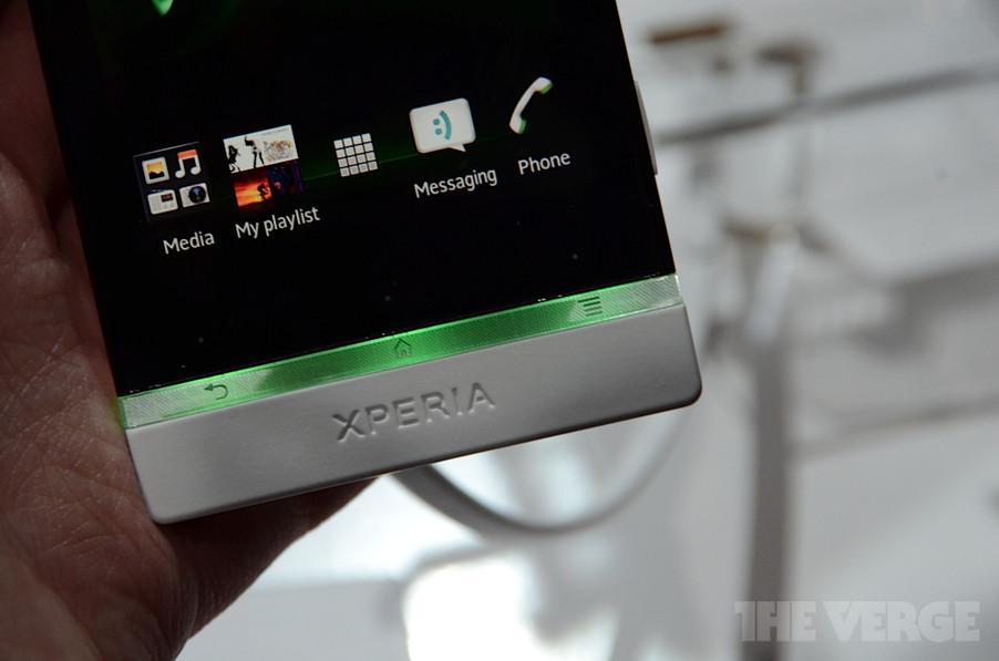 Sony Mobile анонсировала на MWC новые смартфоны Xperia P и Xperia U
