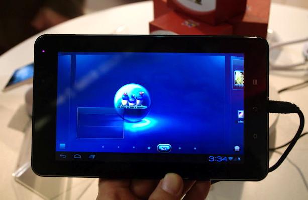 ViewSonic E70, G70, E100: новые планшеты на Ice Cream Sandwich. И P100 для Windows 8