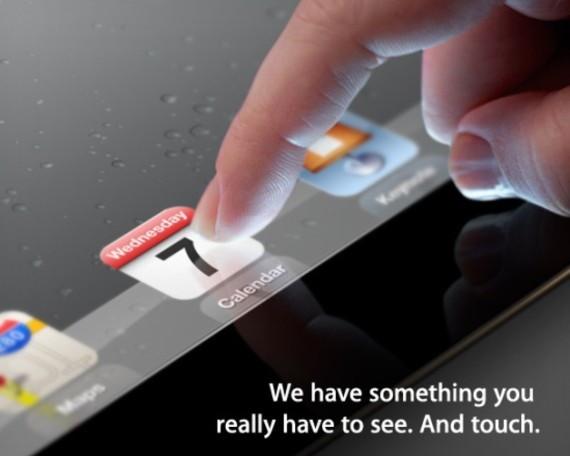 Официально: 7 марта будет анонсирован iPad 3