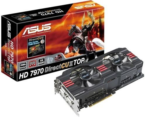 HD 7970 DirectCU II TOP - продвинутая видеокарта от ASUS