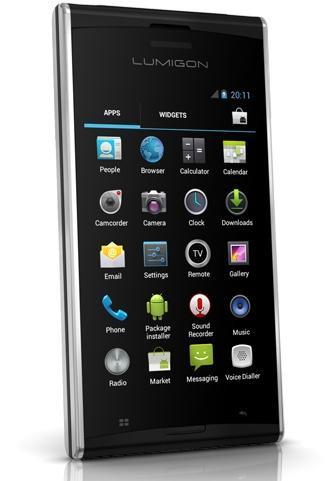 Lumigon T2 – стильный смартфон с 3,8-дюймовый дисплеем и звуком от Bang&Olufsen