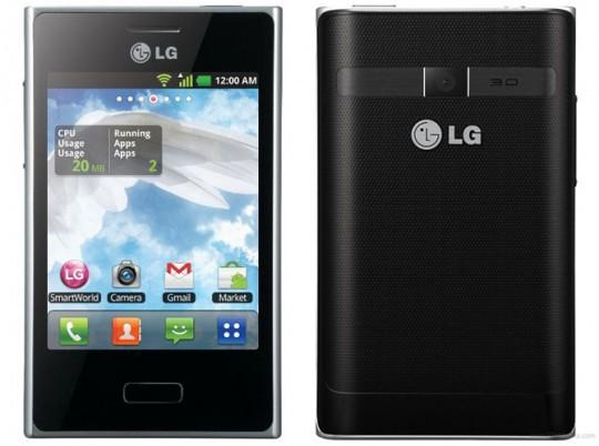 LG анонсировала стильные модели Optimus LG L7, L5 и L3