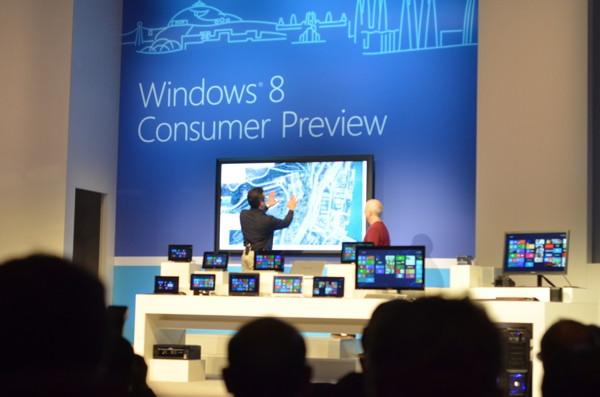 Предварительная версия новой ОС Windows 8 Consumer Preview доступна для скачивания