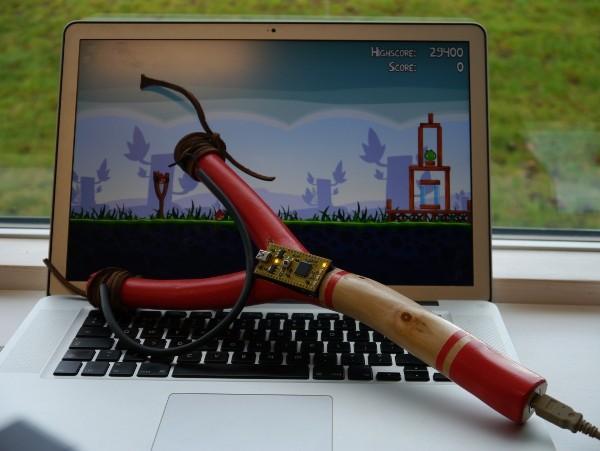 Сделай сам: рогатка для игры в Angry Birds