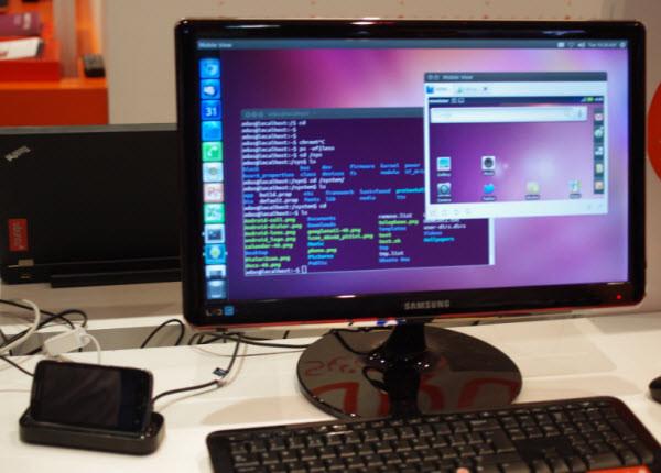 Ubuntu для Android: как смартфон превращается в компьютер