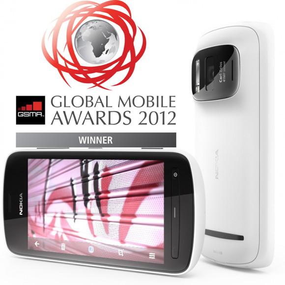 Nokia 808 PureView признана лучшим девайсом MWC-2012