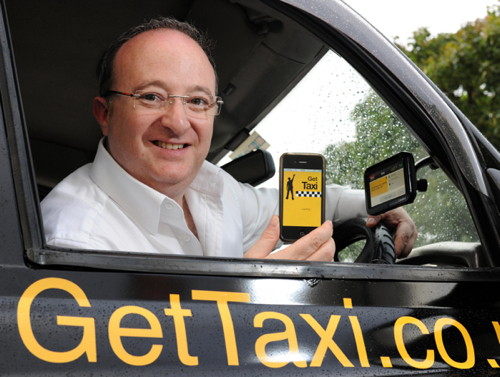 GetTaxi: такси приезжает по команде из смартфона