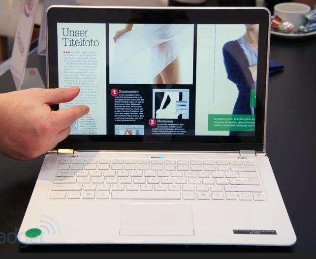 Intel Ivy Bridge – новый ультрабук с сенсорным экраном