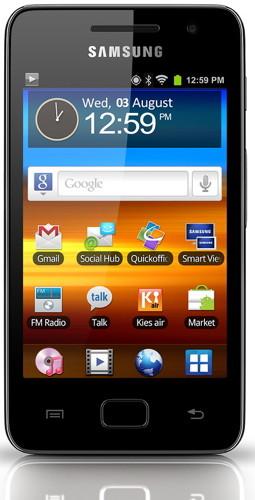 Samsung GALAXY S WiFi 3.6 (YP-GS1) - медиаплеер на Android