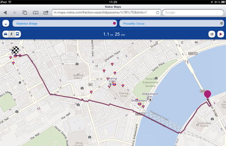 Голосовая навигация Nokia Maps теперь доступна и на других платформах
