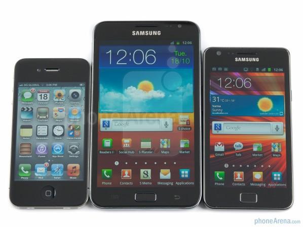 Пользователям нравятся большие экраны: в идеале 4-4,5 дюйма
