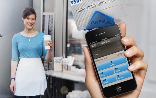 PayPal Here - кардридер и приложение для мобильных платежей