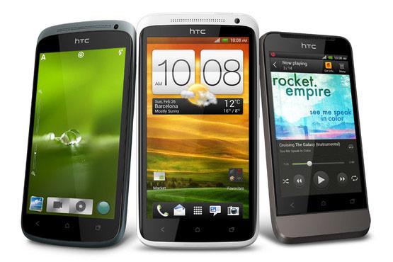 Стала известна стоимость HTC One X, One S и One V в России, а также дата продаж