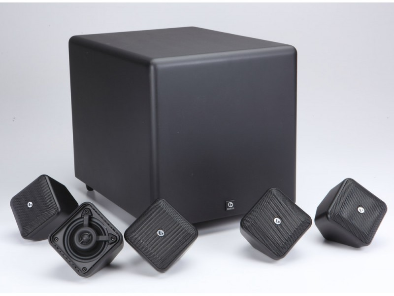 Boston Acoustics Soundware XS 5.1 SE - изящная внешность, хороший звук