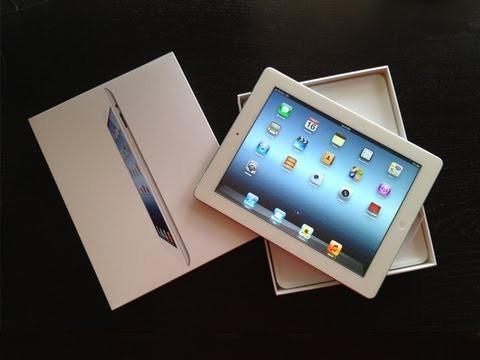За первый уик-энд продано 3 миллиона новых iPad