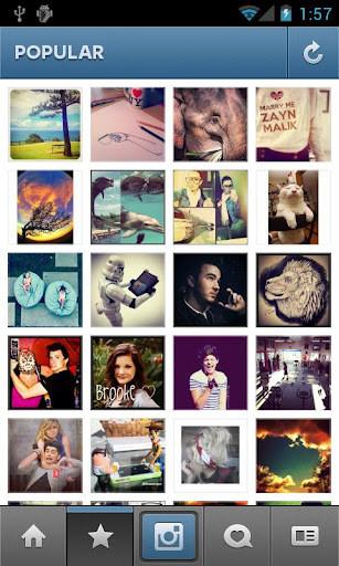 Фотоприложение Instagram вышло для Android