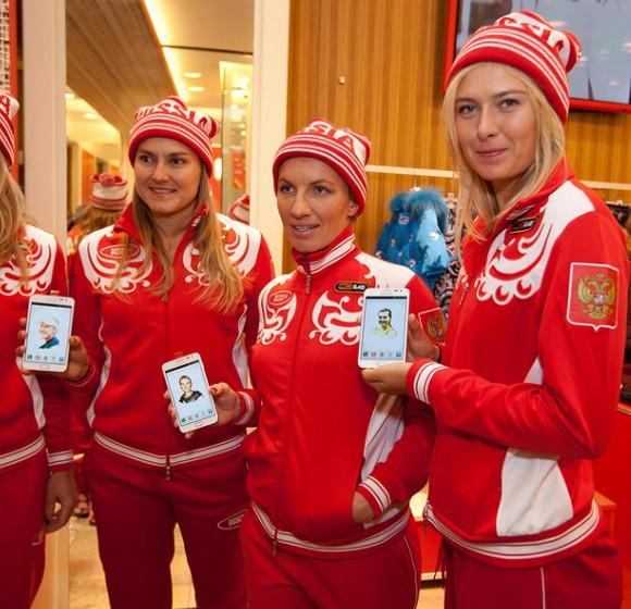Распрощавшись с Sony Ericsson, Мария Шарапова стала лицом Samsung