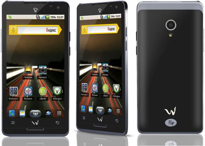 Смартфоны Fly Turbo и Fly Tech серии WOW получили предустановленное приложение ivi.ru