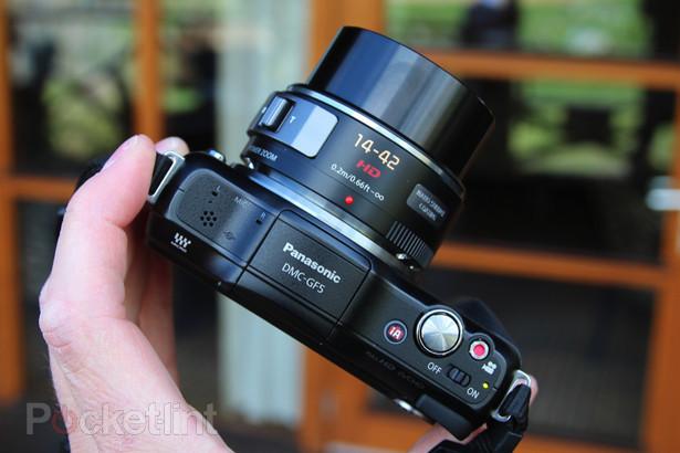 Panasonic Lumix DMC-GF5 с поддержкой технологии Micro Four Thirds