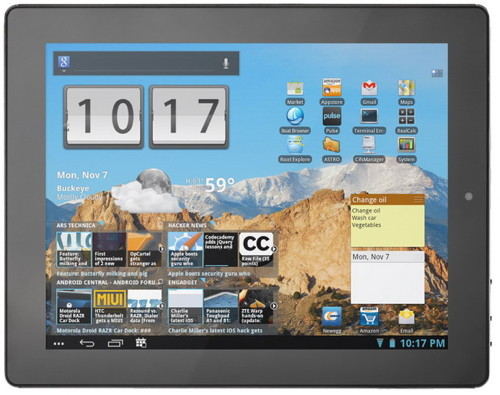 Prestigio MultiPad 9.7 Pro - новый планшет на Android 4.0
