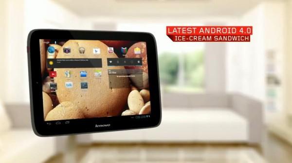 9,7-дюймовый планшет Lenovo IdeaTab S2109 на платформе Android 4.0