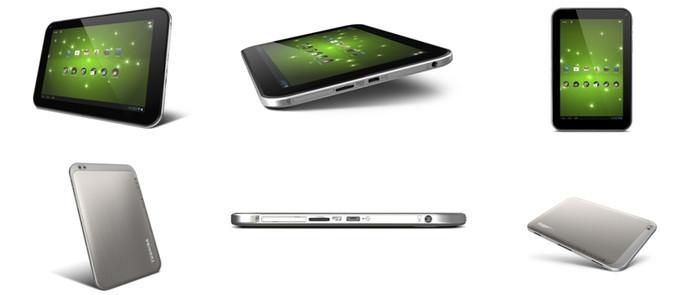 Toshiba анонсировала планшеты Excite 10, 7.7 и 13 с процессорами NVIDIA Tegra 3