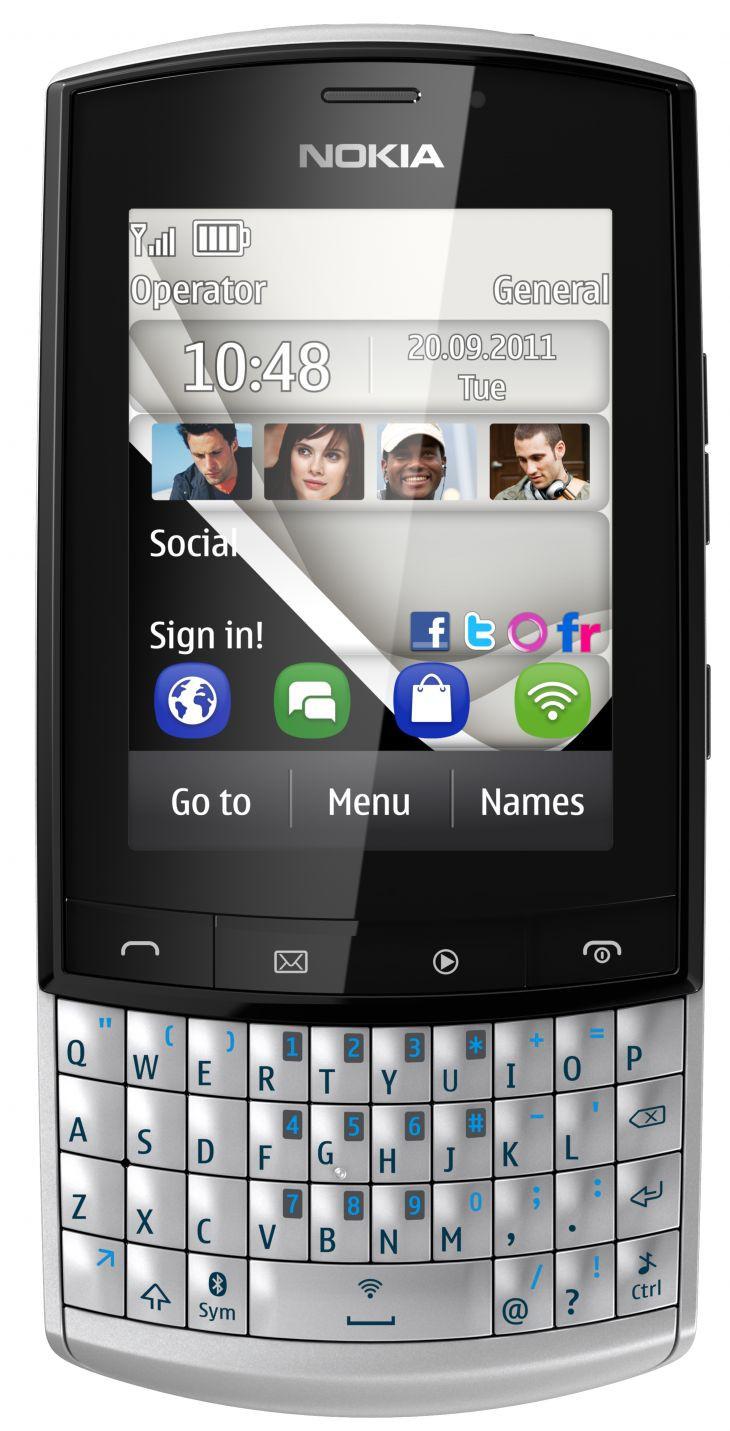 Nokia Asha 303 Touch & Type: «Флагманский простак» с сенсорным экраном и QWERTY