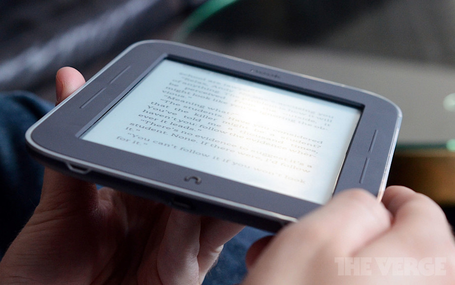 Новый Nook Simple Touch с подсвечиваемым экраном выйдет в начале мая