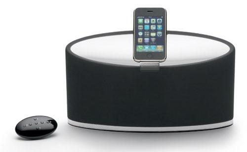Док-станция Monitor Audio i-deck 100 - причудливый облик и отменное звучание